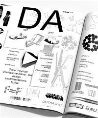 Domestique adoré, DA : design, expérimentations, textes, 1997-2017