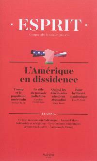 Esprit. n° 434, L'Amérique en dissidence