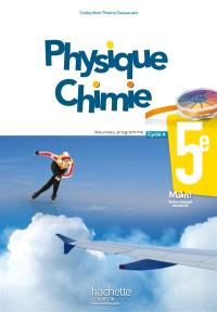 Physique chimie 5e, cycle 4