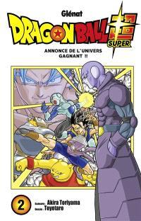 Dragon ball super. Volume 2, Annonce de l'univers gagnant !!