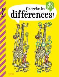 Cherche les différences ! : 40 jeux