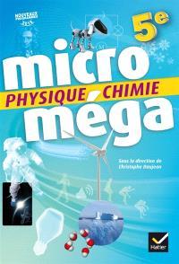 Physique chimie 5e : nouveaux programmes 2016
