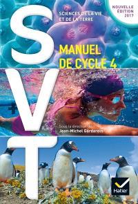 SVT, sciences de la vie et de la Terre : manuel de cycle 4