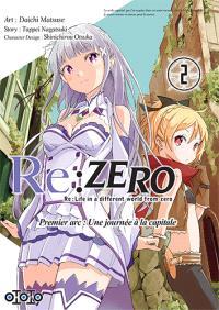 Re:Zero : Re:Life in a different world from zero : premier arc, une journée à la capitale. Volume 2