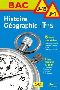 Histoire géographie, terminale S