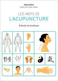 Les mots de l'acupuncture : théorie et pratique