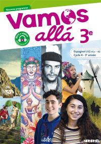 Vamos alla 3e, espagnol LV2 A1+-A2, cycle 4, 3e année : nouveau programme