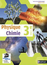 Physique chimie 3e, cycle 4 : nouveau programme, brevet 2017