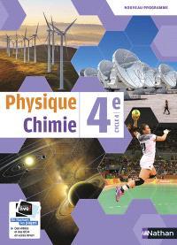 Physique chimie 4e, cycle 4 : nouveau programme