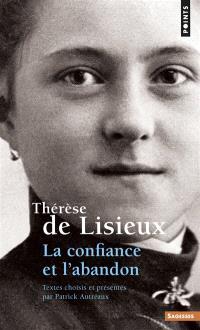 Thérèse de Lisieux : la confiance et l'abandon