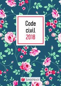Code civil 2018 : jaquette graphik vert