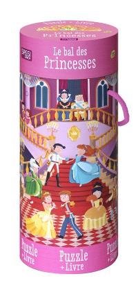 Le bal des princesses : puzzle + livre