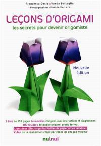 Leçons d'origami : les secrets pour devenir origamiste