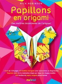Papillons en origami : 20 modèles des plus grands maîtres en origami