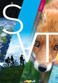 SVT, sciences de la vie et de la Terre, cycle 4 : nouveau programme 2016