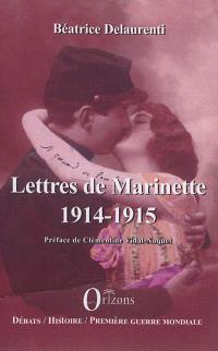 Lettres de Marinette, 1914-1915