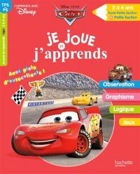 Cars : je joue et j'apprends : toute petite section et petite section, 2 à 4 ans