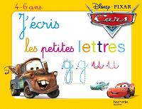 Cars : j'écris les lettres minuscules : 4-6 ans