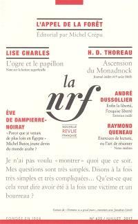 Nouvelle revue française. n° 625