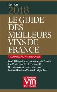 Le guide des meilleurs vins de France : 2018