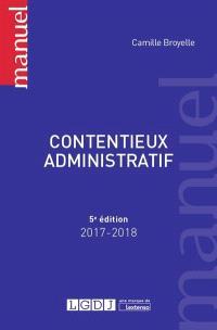 Contentieux administratif : 2017-2018