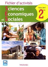 Sciences économiques et sociales 2de : fichier d'activités