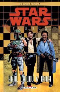 Star Wars : icones. Volume 5, Han, Lando et Boba