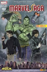 Marvel Saga. n° 2, Le carrément démentiel Hulk : saga complète
