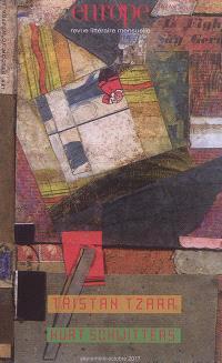 Europe. n° 1061-1062, Tristan Tzara. Kurt Schwitters