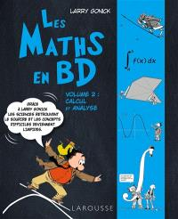 Les maths en BD. Volume 2, Calcul et analyse