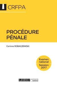 Procédure pénale : examen national, session 2018