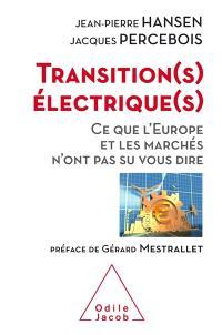 Transition(s) électrique(s) : ce que l'Europe et les marchés n'ont pas su vous dire