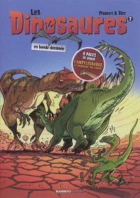 Les dinosaures en bande dessinée. Volume 2