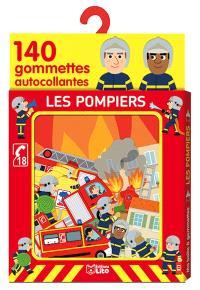 Les pompiers : 140 gommettes autocollantes