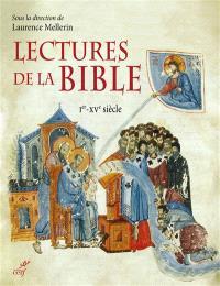 Lectures de la Bible : Ier-XVe siècle
