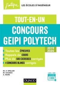 Concours Geipi Polytech : tout-en-un : 2019-2020
