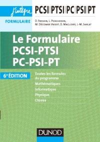 Le formulaire PCSI, PTSI, PC, PSI, PT