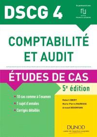 Comptabilité et audit, DSCG 4 : études de cas