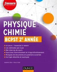 Physique chimie, BCPST, 2e année