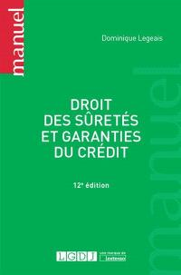 Droit des sûretés et garanties du crédit