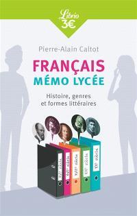 Français : mémo collège : formes, genres et registres littéraires