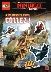 Lego, the Ninjago movie : à vos marques, prêts, collez !
