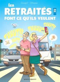 Les retraités en BD !. Volume 3, Les retraités font ce qu'ils veulent