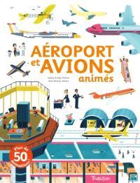 Aéroports et avions animés