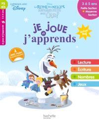 Joyeuses fêtes avec Olaf : je joue et j'apprends : petite section et Moyenne section, 3 à 5 ans