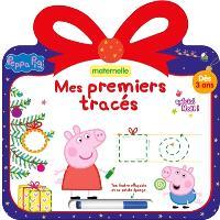 Peppa Pig : mes premiers tracés, spécial Noël ! : maternelle, dès 3 ans