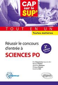 Réussir le concours d'entrée à Sciences Po : tout-en-un : toutes matières