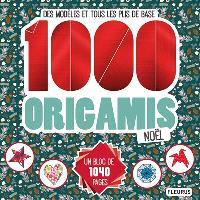 1.000 origamis Noël : des modèles et tous les plis de base