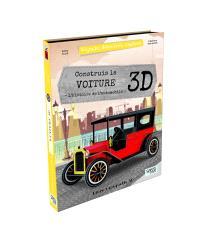 Voyage, découvre, explore, Construis la voiture 3D : l'histoire de l'automobile