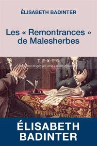 Les Remontrances de Malesherbes : 1771-1775